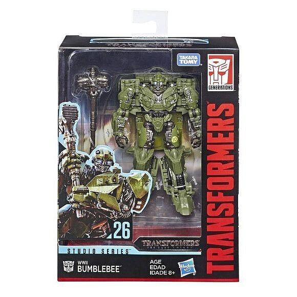 (In-Hand) Hasbro Transformers Studio Series Deluxe WWII Bumblebee NEW