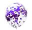 miniature 14 - 12-034-Effacer-Confetti-rempli-BALLONS-Fete-D-039-Anniversaire-Mariage-Decorations-fille-garcon