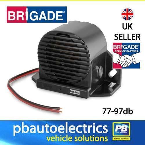 1399 BRIGADE SA-BBS-97 Inteligente Alarma de inversión de ruido blanco 12-24 V 77-97DB