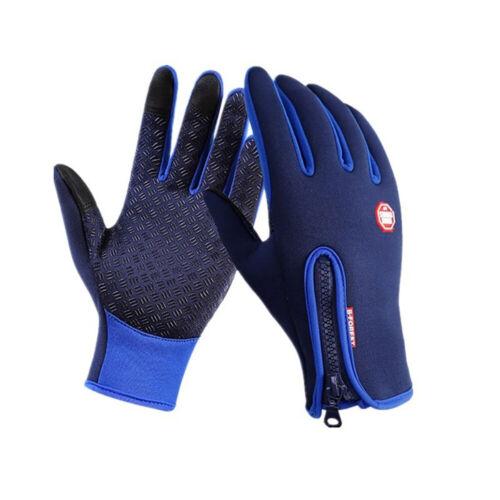 Winter Handschuhe Damen Herren Thermo Warme Fahrradhandschuhe Touchscreen S-XL