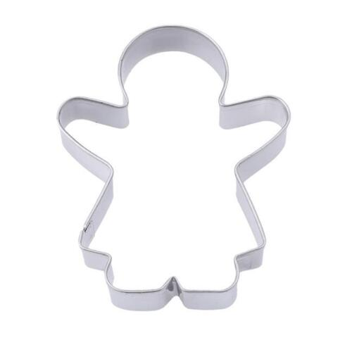 Details about  /Fondant Cakes Cake Mold Stainless Steel Stainless Cutter 3Pc//set Cookie Maker 6T