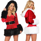 Mrs Santa Claus Fancy Dress Costume Womens Ladies Christmas Xmas Outfit