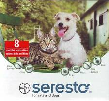 BAYER SERESTO COLLAR TICKS AND FLEAS PROTECTION FOR SMALL DOG / CAT