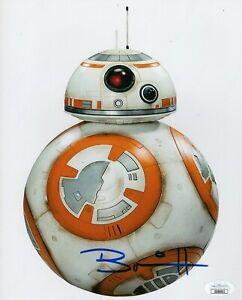 Brian-Herring-Autograph-Signed-8x10-Photo-Star-Wars-034-BB-8-034-JSA-COA