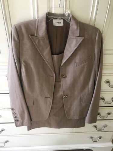 Womans Akris Punto Skirt Suit