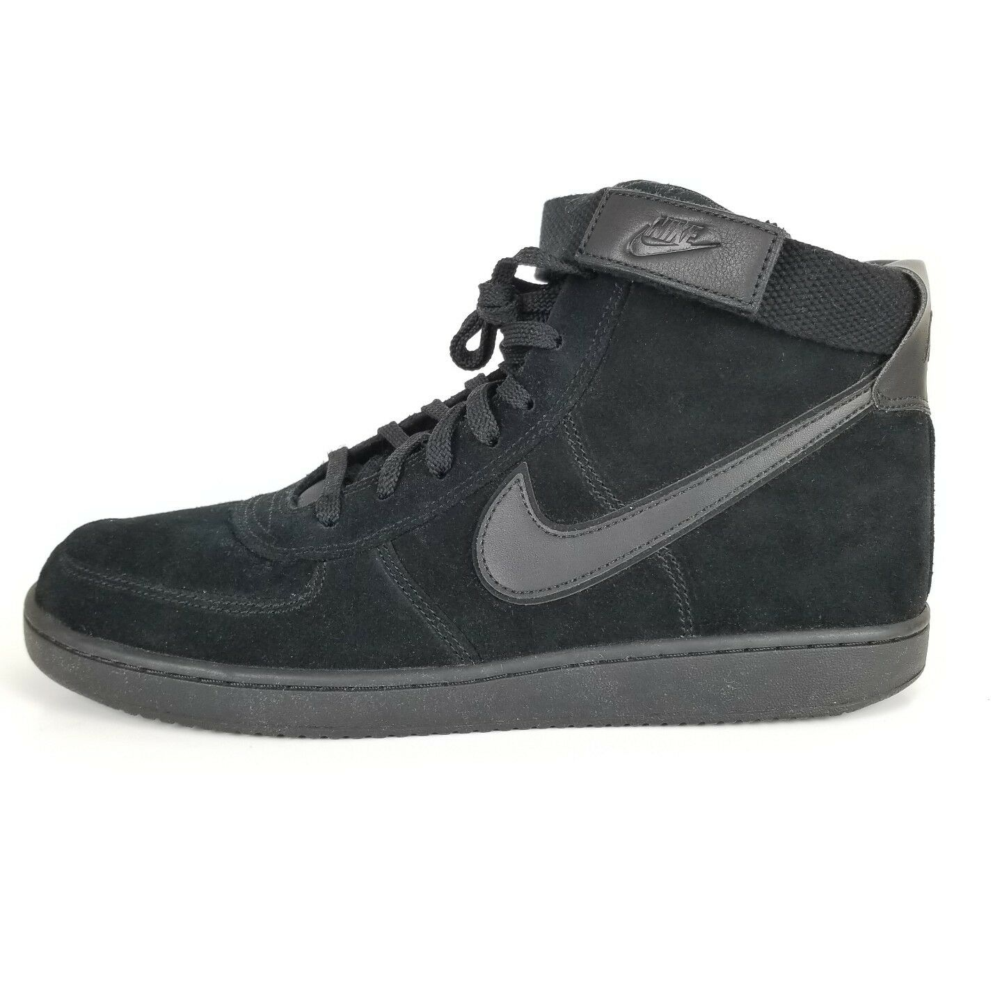 Nike Vandal High Supreme LTR John Elliot AH8518-001 Triple Black Men's Shoes