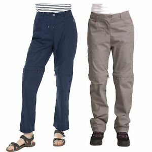 Trespass-Rambler-Womens-Trousers-Hiking-Camping-in-Grey