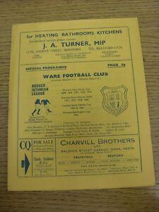 21-04-1979-Ware-v-Maidenhead-United-Excellent-Condition