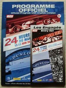 LE-MANS-24-HOUR-ENDURANCE-CAR-RACE-June-2010-Official-Programme-amp-Entry-List