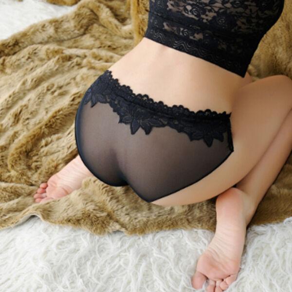 Damen Spitzenunterwäsche Sexy Transparent  String Tanga Slips G-Strings Schlüpfe