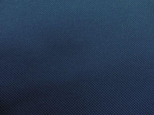 Tela Impermeable Pesado Lona Azul Oscuro doblada PU atrás X 10MTR-número de seguimiento