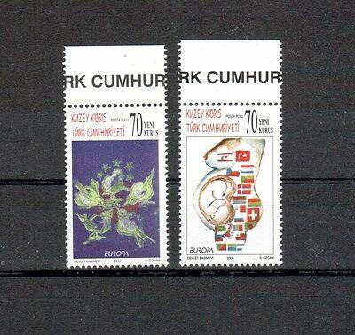 europa:2739 Zypern Trendmarkierung Türk.zypern Michelnummer 642-643 Postfrisch Briefmarken