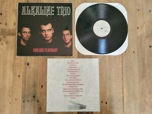 """Alkaline Trio From Here to Infirmary 12"""" Black Vinyl 2001 Vagrant Records"""