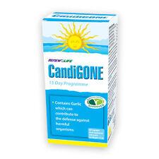 Renovar la vida candigone 60 Cápsulas Candida alivio infección ayuda.