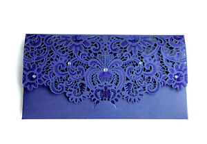 Blue-Laser-Cut-Gift-Money-Vouchers-Tokens-Wallet-Card-Envelope-Wedding-Birthday