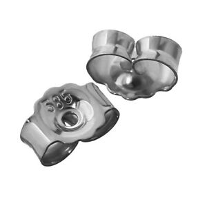 3paar Echtes 925er Sterlingsilber Ohrmutter Ohrringe Ohrstecker Ohrstopper 2057