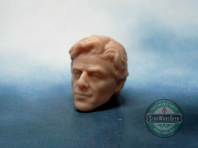 MH342 Custom Cast Male head for use with 3.75