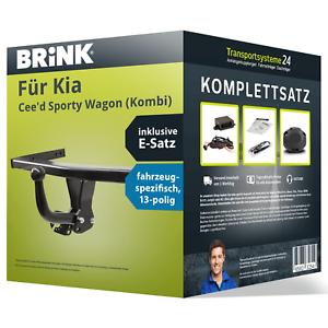 Kombi +E-Satz AHK Anhängerkupplung BRINK starr für KIA Cee/'d Sporty Wagon