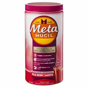 Metamucil Wild Berry Smooth, 114 Doses - 673g