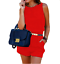 tuta-elegante-pantaloni-lunghi-jumpsuit-corto-abito-cerimonia-da-donna miniatura 4