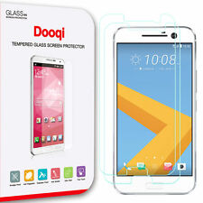 2X Dooqi Premium Tempered Glass Screen Protector for HTC 10 (One M10)