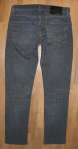 """Levi `S Lot 511 Premium D' Homme Jeans / Levis En Sombre Bleu Env. W31 """" / L31 """""""