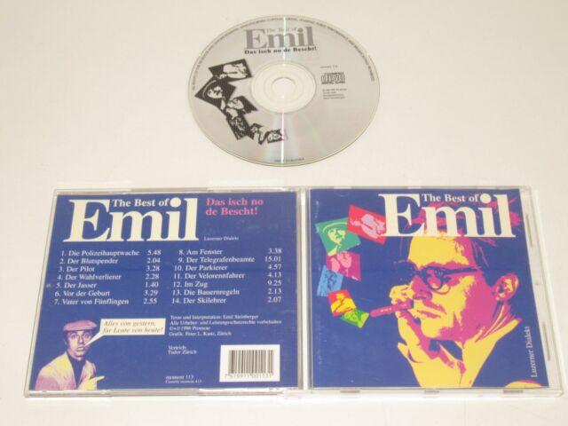 Emil / The Best Of Emil / la Je No de Bescht!( Moment 113) CD Album