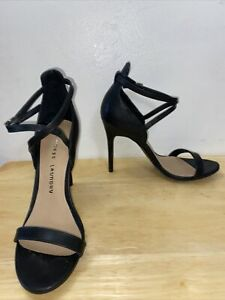 Chinese Laundry  Ankle Strap Heels, Women's Size 6.5M, Black