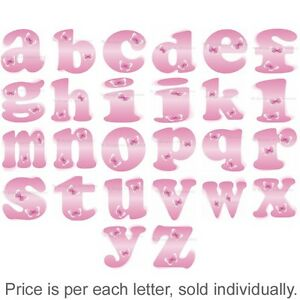 Name-Wall-Letters-Alphabet-Stickers-Initial-Decals-Girls-Decor-Pink-Butterfly