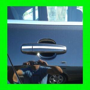 Mazda-Cromo-Borde-Manija-Puerta-Moldeador-4PC-con-5YR-Wrnty-Gratis-Interior