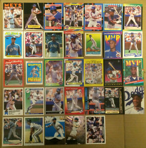 Darryl-Strawberry-LOT-of-53-insert-base-cards-NM-1986-1997-NY-Mets-dodgers-mlb