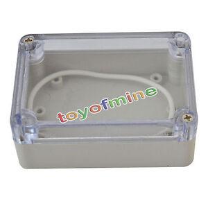 83x58x33mm couvercle en plastique transparent bo tier - Boite etanche electrique ...
