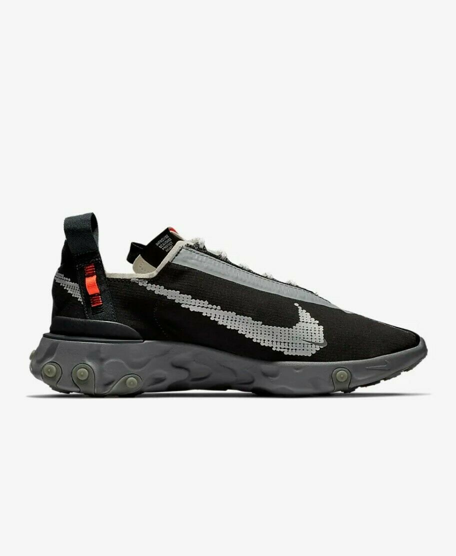 Nike ISPA React Low Running shoes Sneakers - Black (Mens US Size 9)