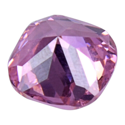 Unheated 12.15ct Pink Sapphire 12x12mm Cushion Shape Loose Gemstone vt