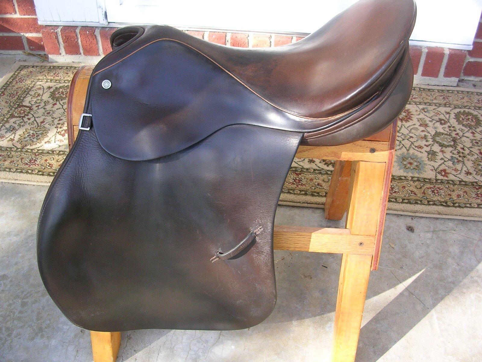 Crosby Lexington  by Tad Coffin, 16 1 2 , saddle, narrow twist, narrow tree..