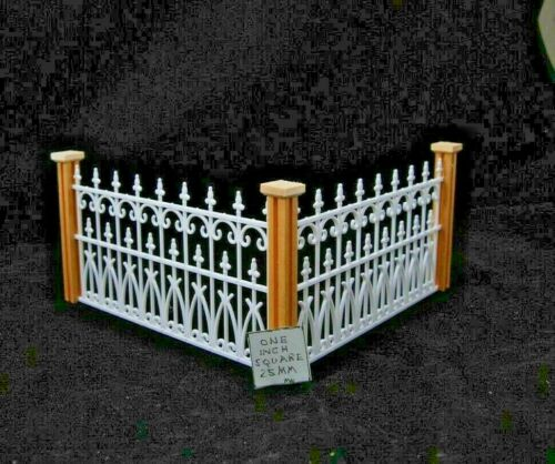 """VICTORIAN FENCE POST  3-3//4/"""" high   1//12 scale dollhouse miniature 5pcs   MWNWC2"""