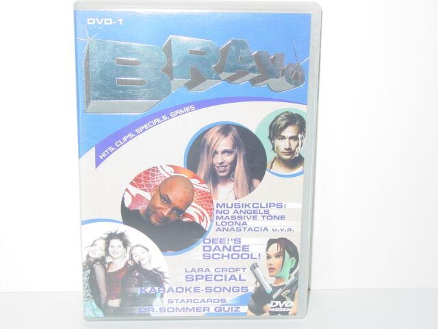 "*****DVD-VARIOUS ARTISTS""BRAVO-DVD-1""-2002 Warner Music Vision*****"