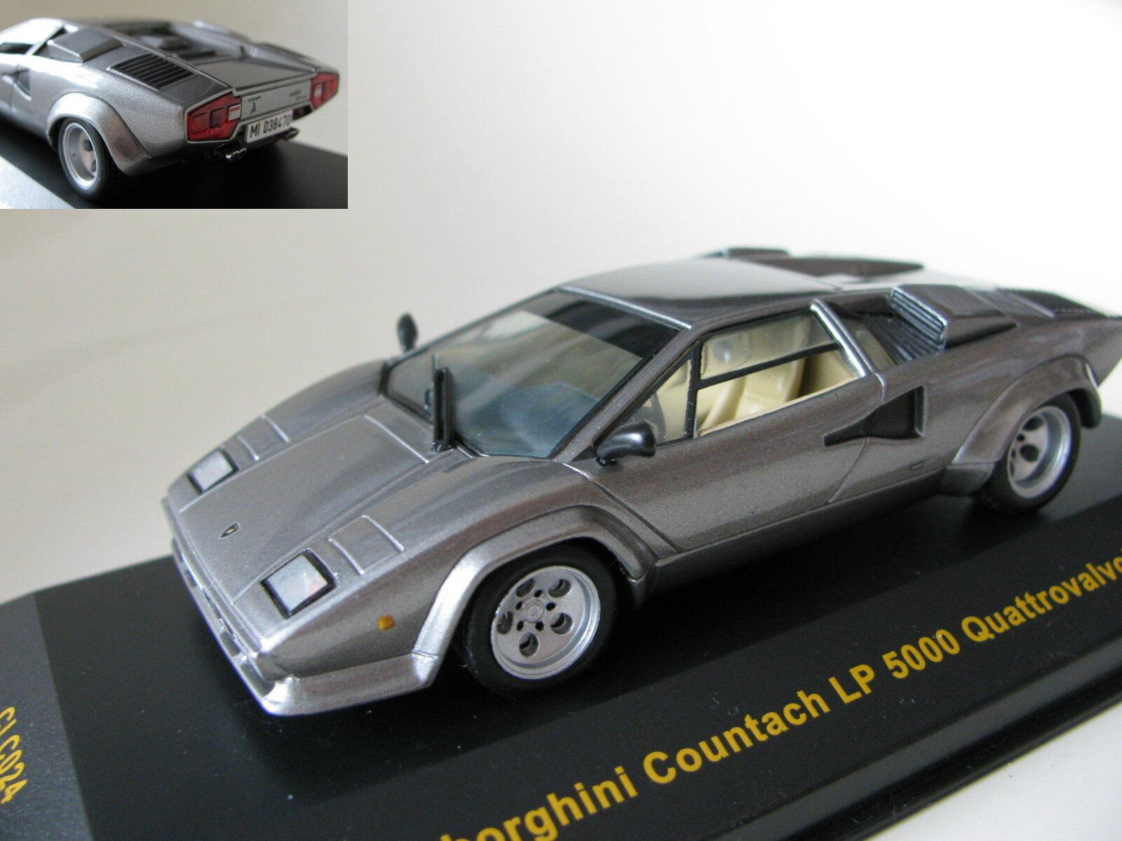 Todo en alta calidad y bajo precio. 1 43 Lamborghini Countach Lp Lp Lp 5000 Quattrovalvole (1988) Diecast  orden ahora disfrutar de gran descuento