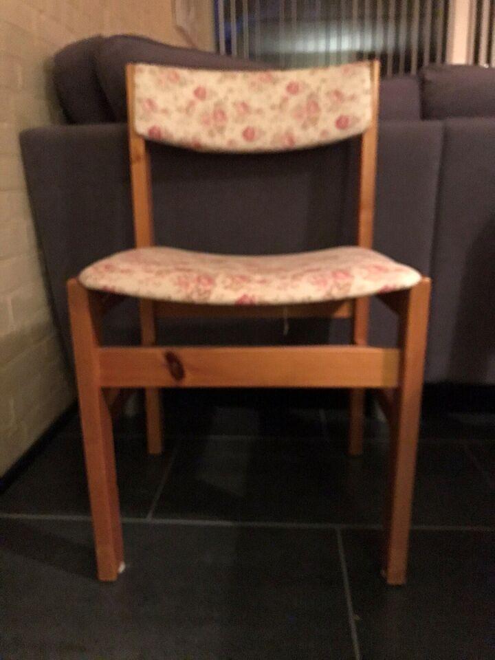 Spisebord m/stole, Fyrretræ, b: 90 l: 160