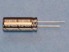 5 BC VISHAY #716019 4x Elko Capacitor Radial 22µF 400V 105 ° C 16X27mm RM7