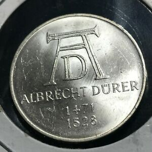 1971-D-GERMANY-SILVER-5-MARKS-BRILLIANT-UNCIRCULATED