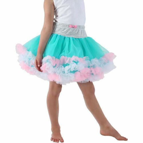 Jona Michelle Girls/' Multi Layered Tutu Skirt Bright Colors NWOT