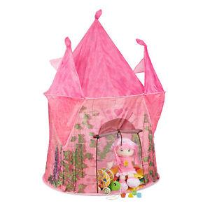 Spielzelt Mädchen Schloss Kinderzelt Kinderzimmerzelt rosa Prinzessinnenzelt