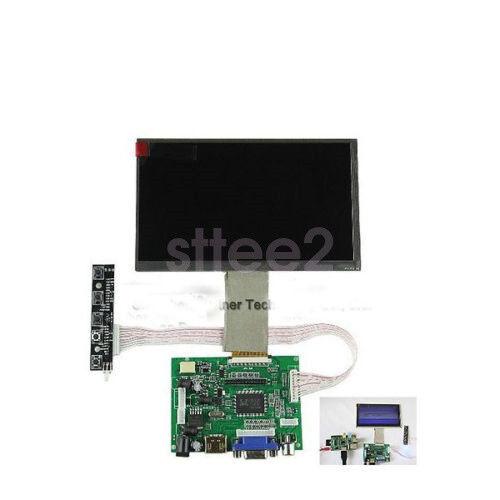 HDMI+VGA+2AV Controller Board for Raspberry Pi 8 inch LCD TFT Display 800x480
