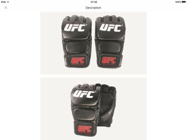 UFC MMA Boxing Sports Leather Gloves