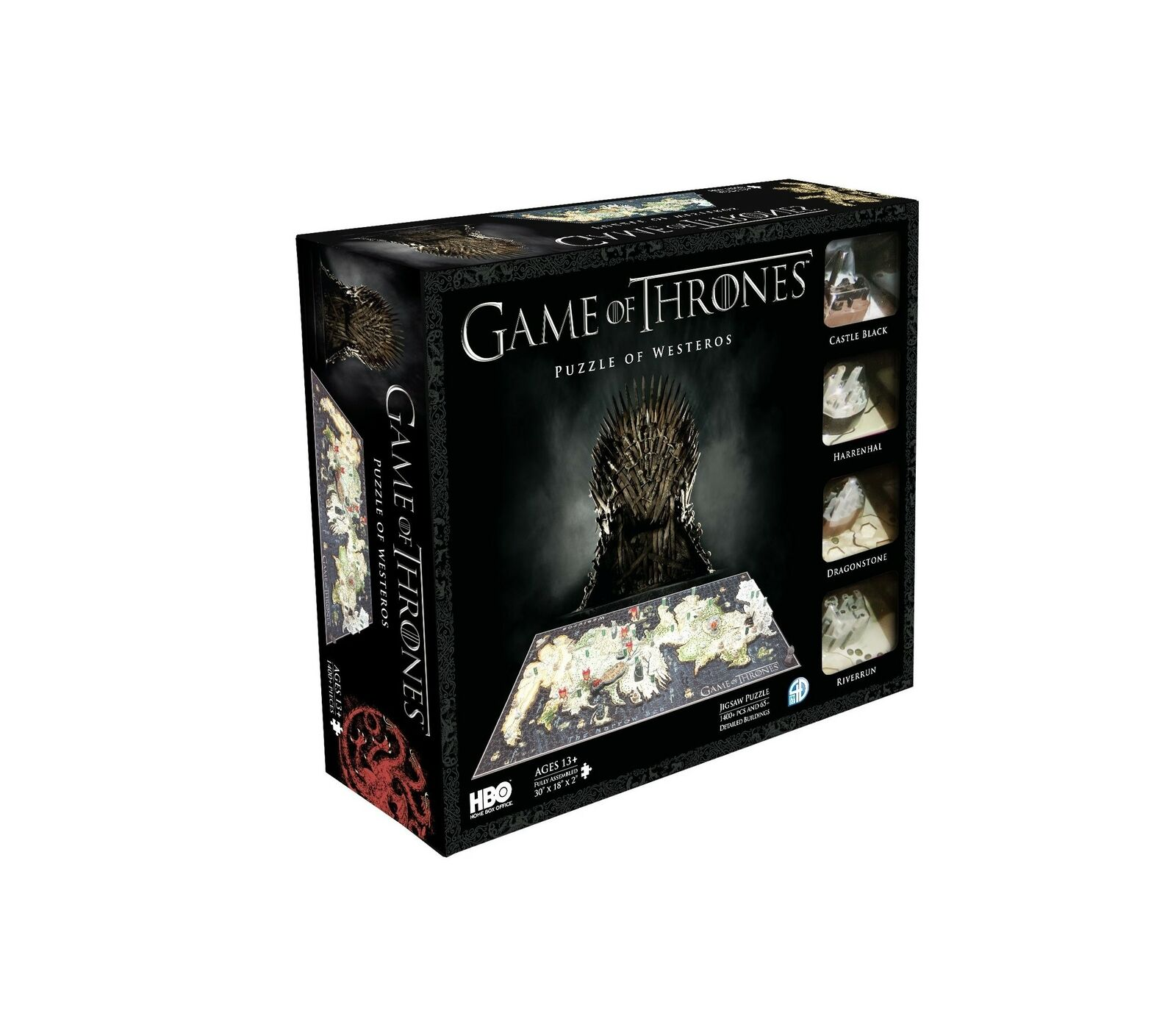 4D cittàscape gioco of Thrones  Westeros Puzzle Multi