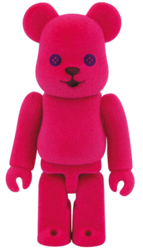 Medicom Bearbrick S27 Medicom Cute 27 be@rbrick 100/% Flocky Pink Pet