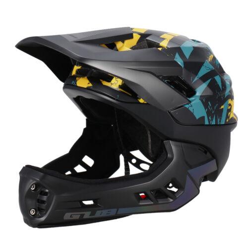 GUB Detachable Full Face Helmet for Child Cycling Skating Skiing Reflective N7X8