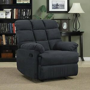 Image Is Loading Oversized Recliner Chair Wall Hugger Microfiber Lounger RV