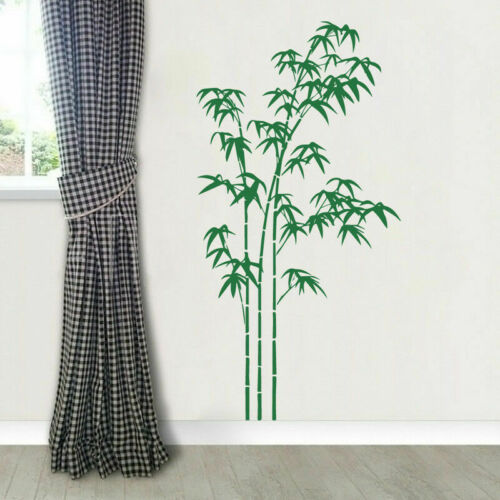 Bamboo Plant Flower Vinyl Wall Art Decal Sticker Mural Living Room Home Decor